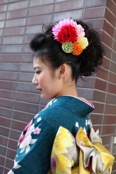 No.363うり 振袖スナップ写真3