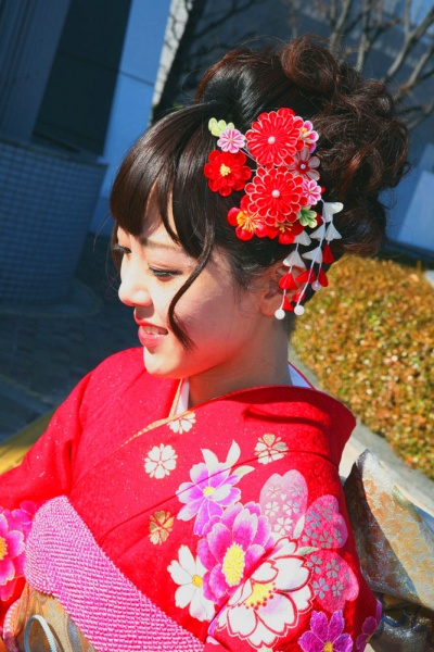 No.441まこ 振袖スナップ写真3