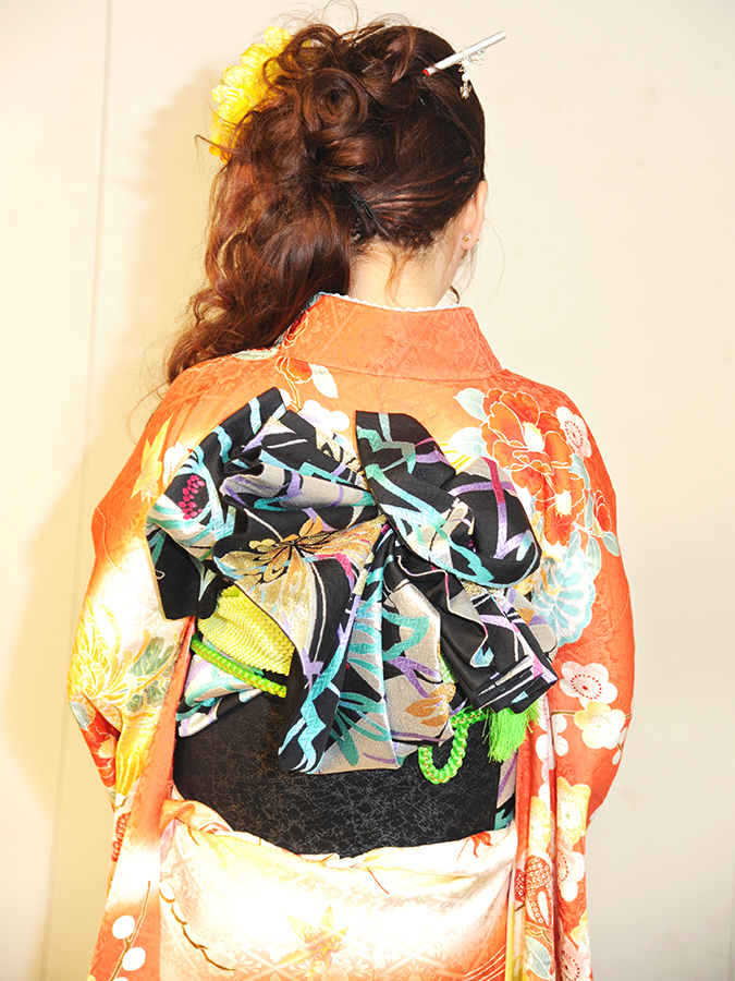 No.457おみくり 振袖スナップ写真3