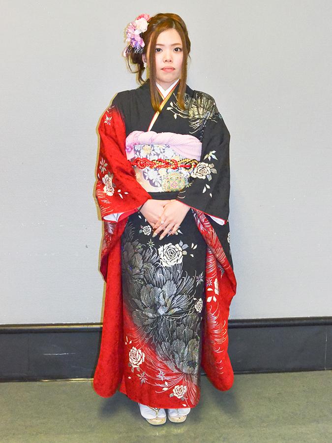 No.478みっ 振袖スナップ写真2