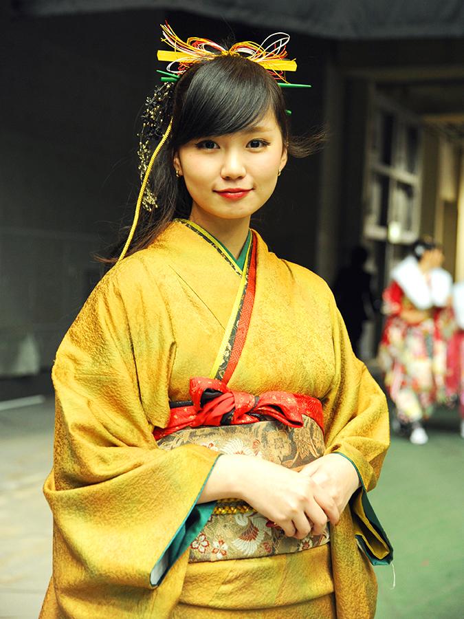 No.487ワカニャン 振袖スナップ写真1