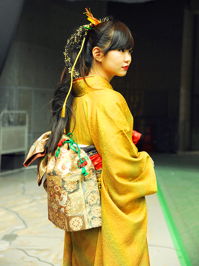 No.487ワカニャン 振袖スナップ写真3