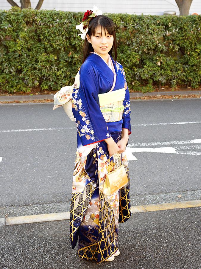 No.489KANA 振袖スナップ写真2
