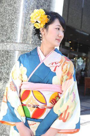 No.511すー 振袖スナップ写真1