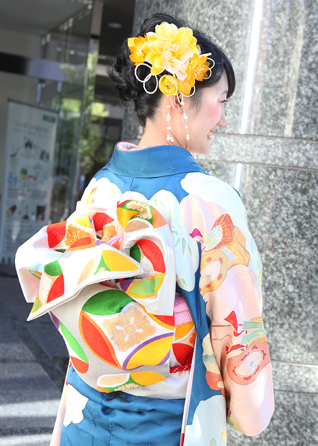 No.511すー 振袖スナップ写真3