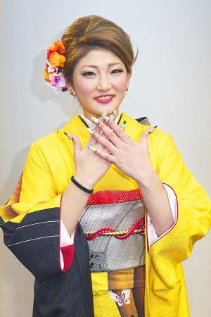 No.519ひろ 振袖スナップ写真1