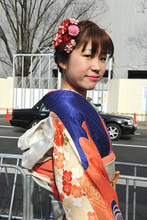 No.540さき 振袖スナップ写真1
