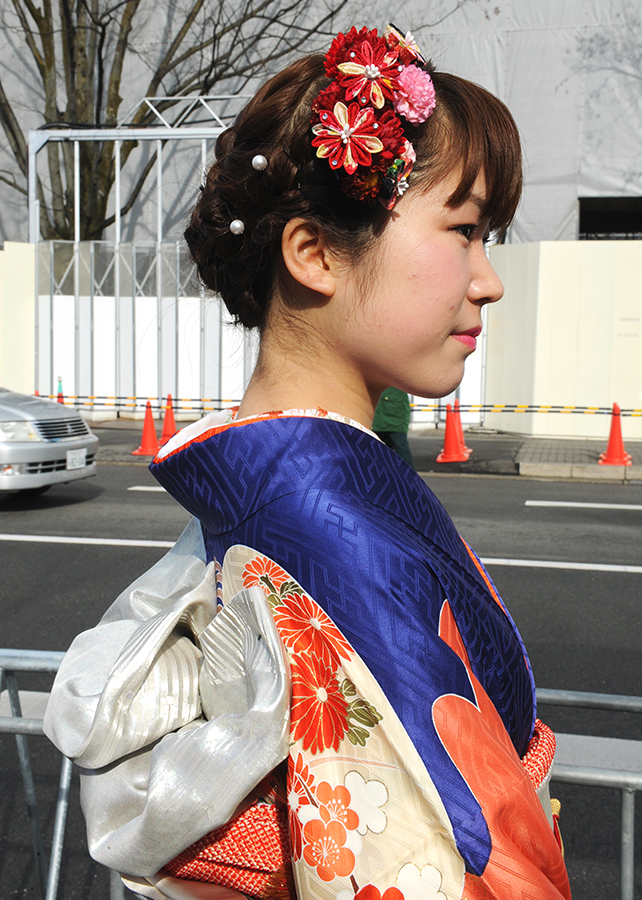 No.540さき 振袖スナップ写真4