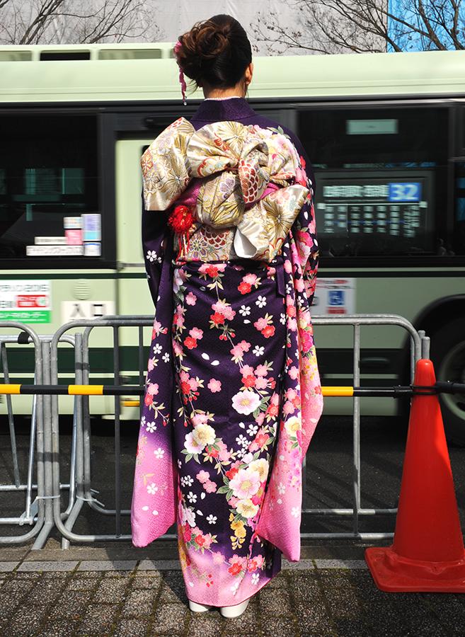 No.552ゆか 振袖スナップ写真4