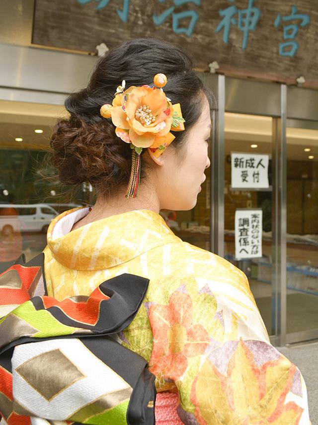 No.726あつこ 振袖スナップ写真4