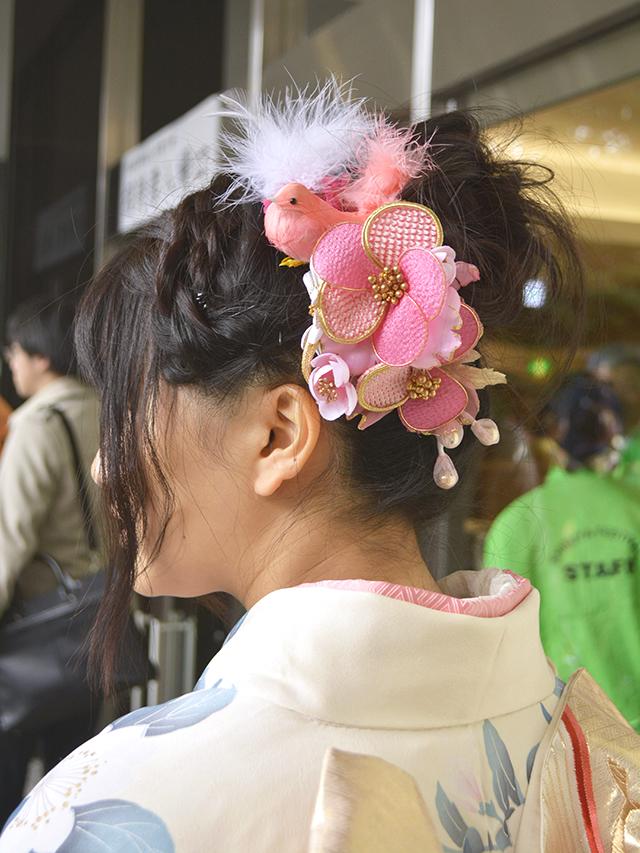 No.731くみ 振袖スナップ写真4
