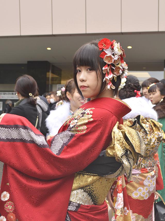 No.732こよ 振袖スナップ写真6