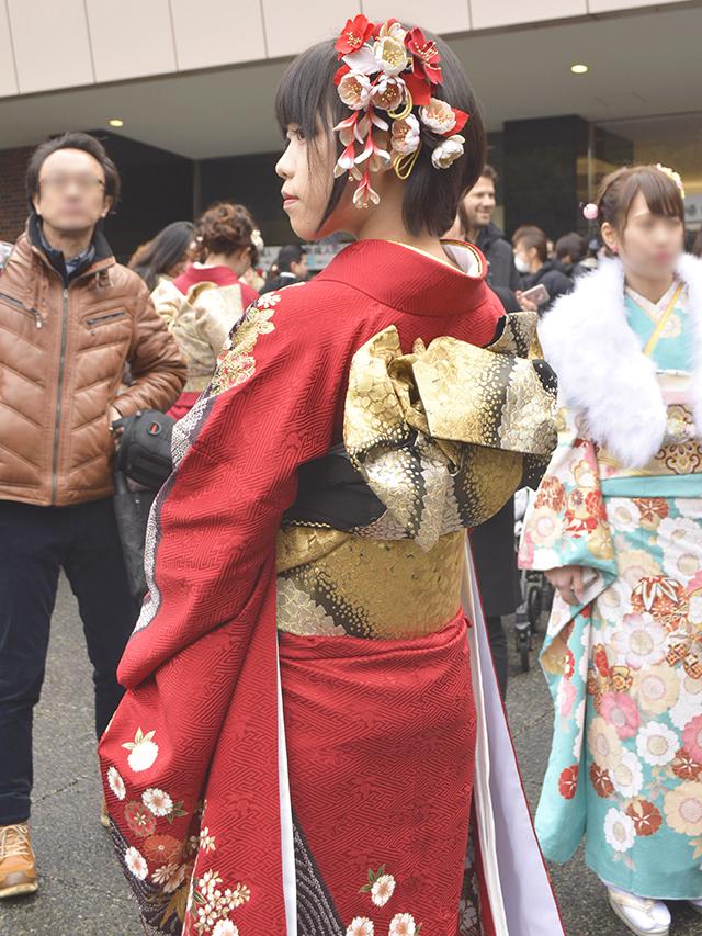 No.732こよ 振袖スナップ写真5