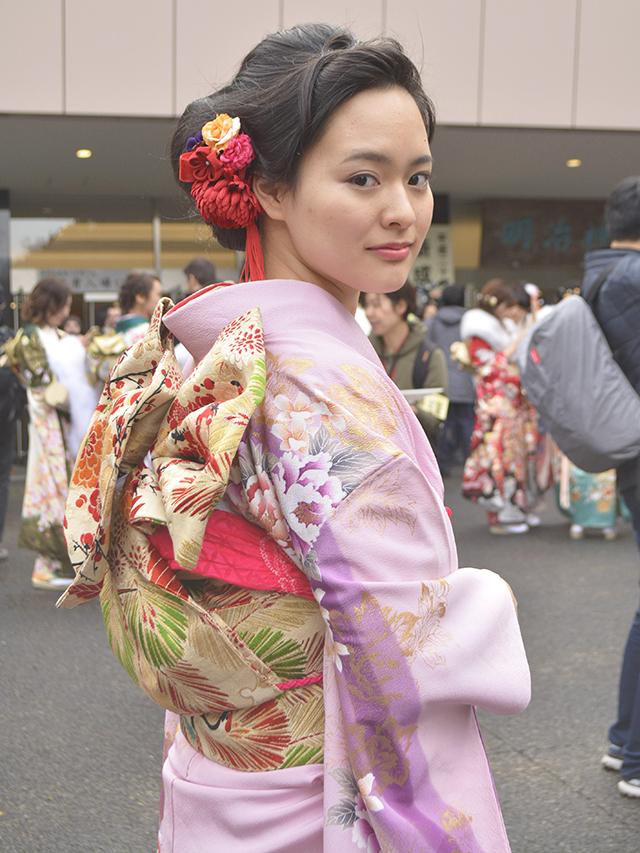 No.738ゆう 振袖スナップ写真3