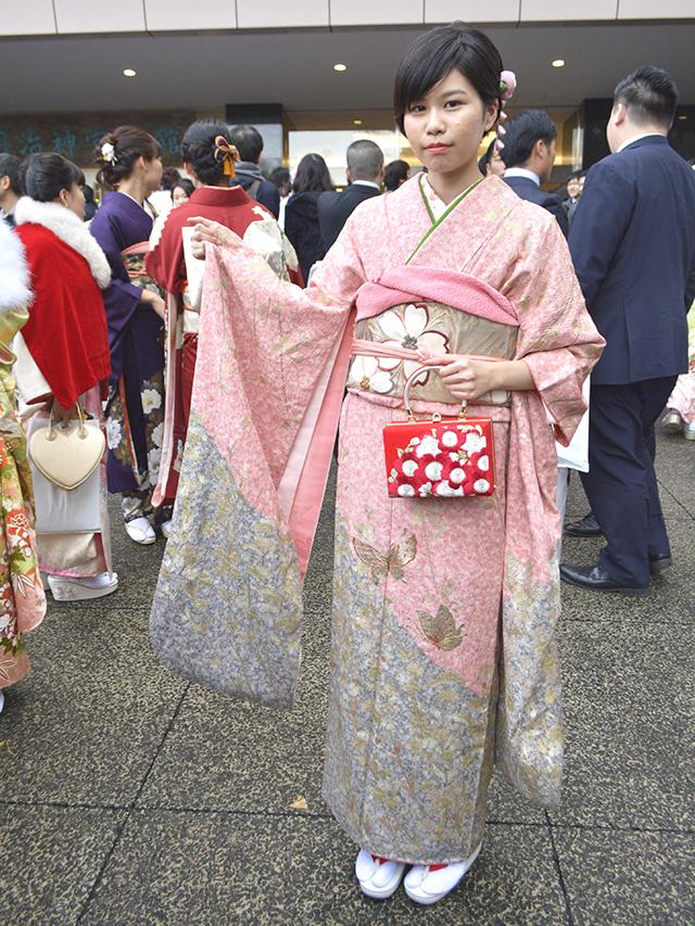 No.729かのこ 振袖スナップ写真3