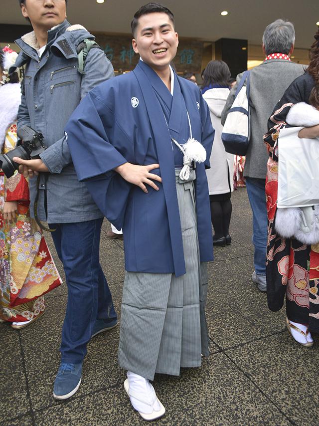 No.735ジョー 袴スナップ写真2