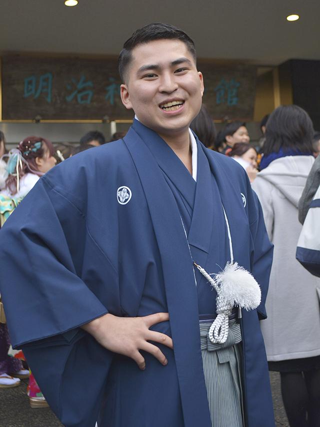 No.735ジョー 袴スナップ写真1