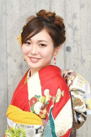 No.765sayaka 振袖スナップ写真1