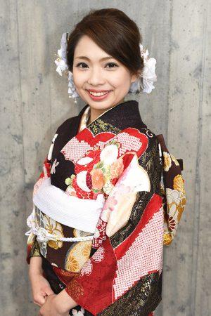 No.763Misaki 振袖スナップ写真1