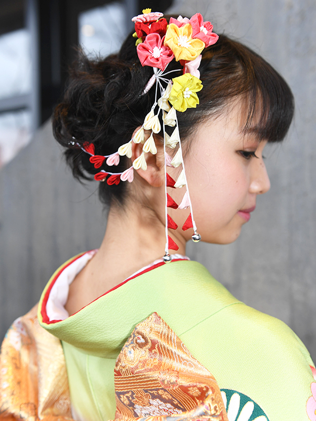 No.762LUCKY♡ 振袖スナップ写真5