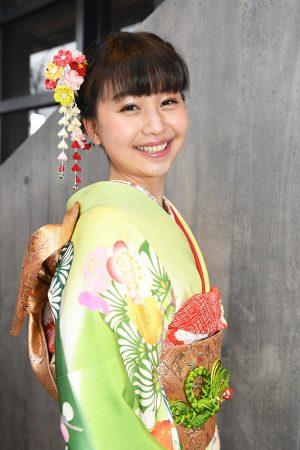 No.762LUCKY♡ 振袖スナップ写真1
