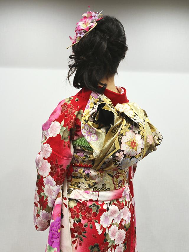 No.749たまご 振袖スナップ写真4