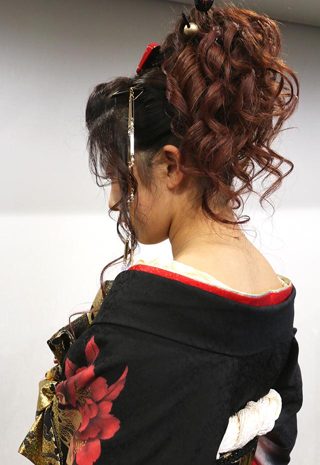 No.757ゆう 振袖スナップ写真4