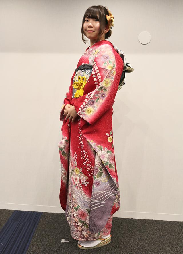 No.759れんれん 振袖スナップ写真2
