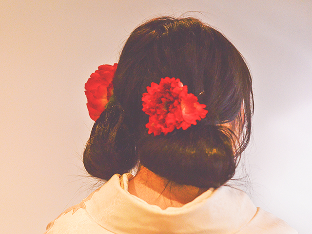 No.713ちゃんどん 振袖スナップ写真3