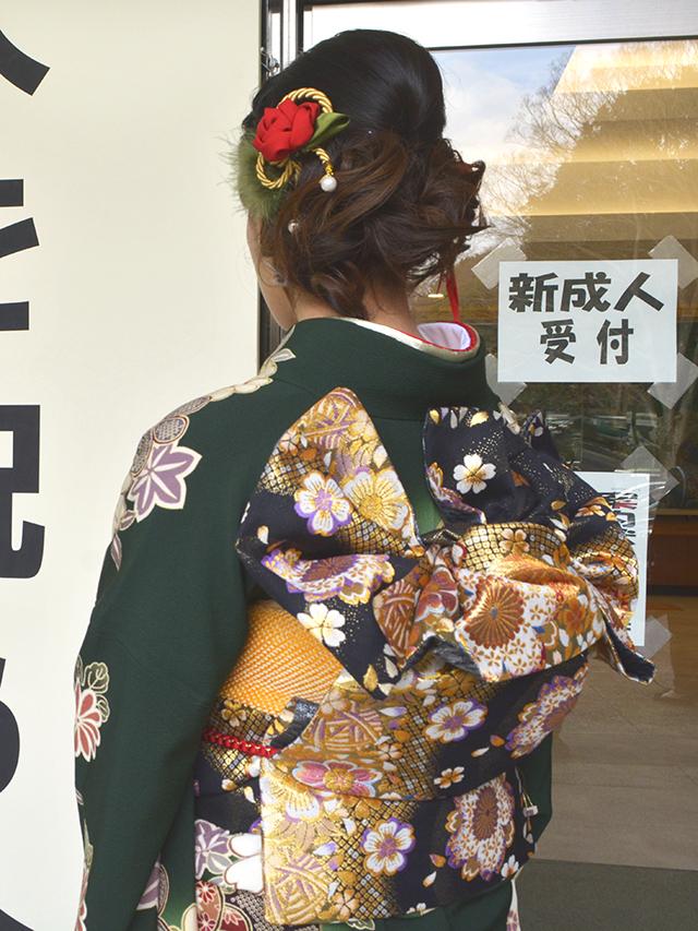 No.828A 振袖スナップ写真4