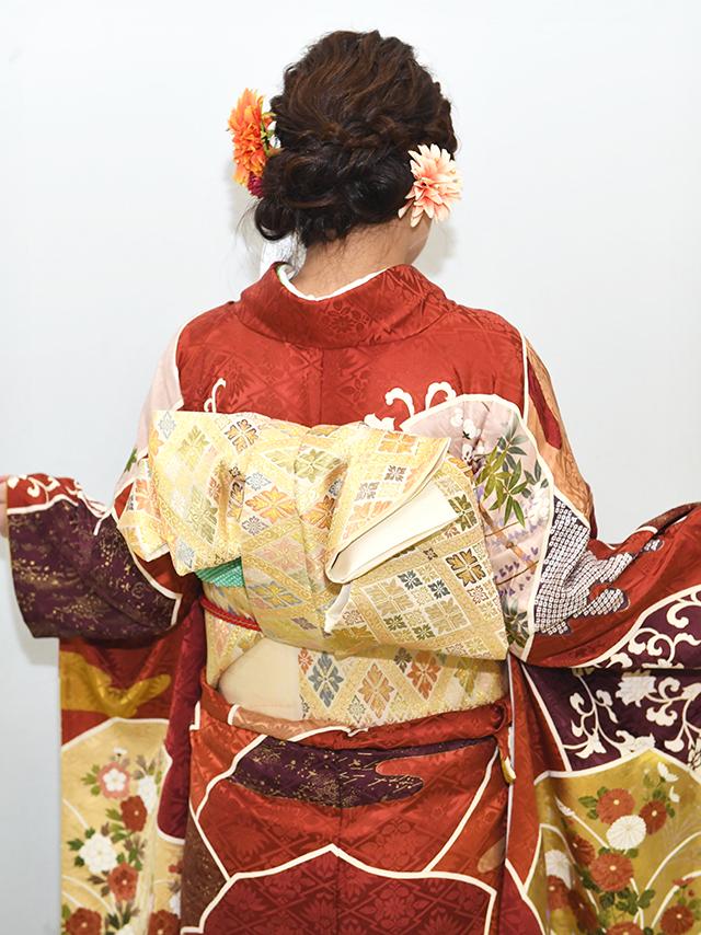 No.852よしの 振袖スナップ写真4