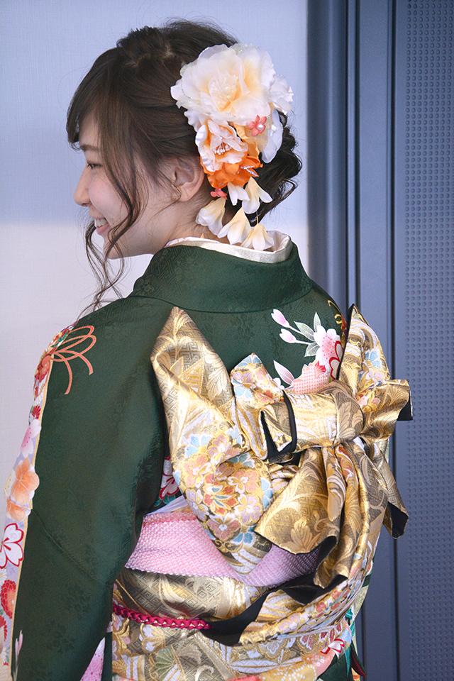 No.811オリタ 振袖スナップ写真4