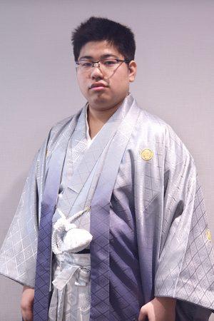 No.817藤原 振袖スナップ写真1