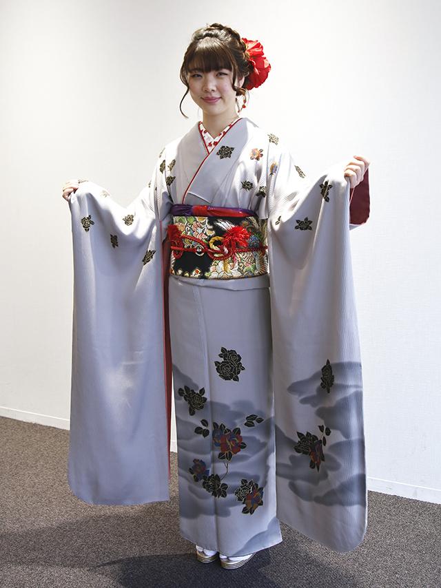No.793ちひろ 振袖スナップ写真4