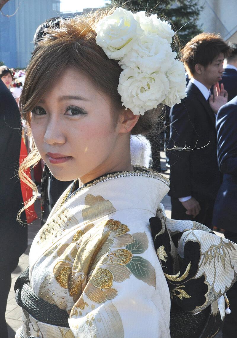 No.870まいめろ 振袖スナップ写真4