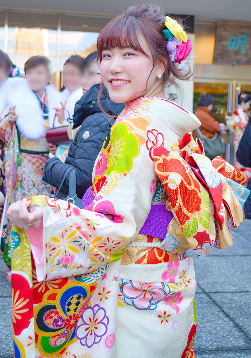 No.888じゅり  振袖スナップ写真3