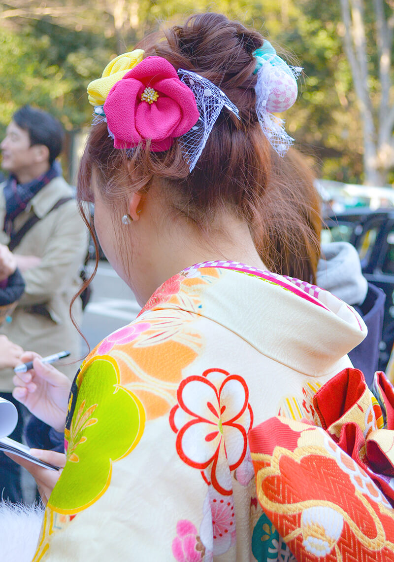 No.888じゅり  振袖スナップ写真4