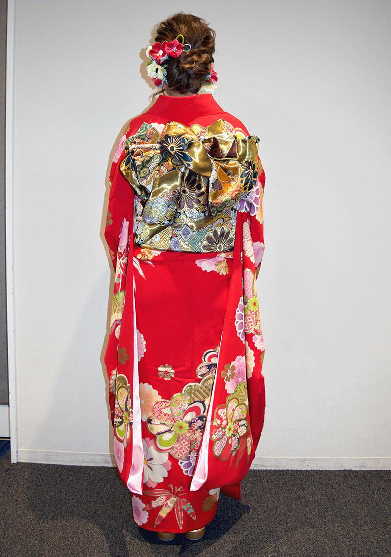 No.945ぽん 振袖スナップ写真3