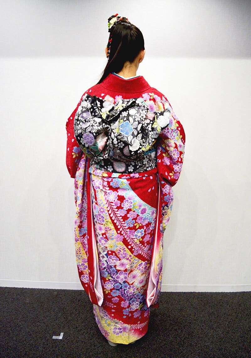 No.954ふぁみ 振袖スナップ写真4