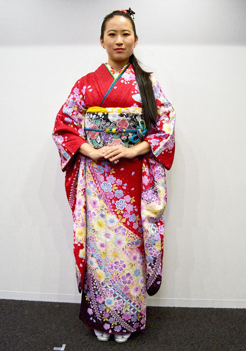 No.954ふぁみ 振袖スナップ写真2