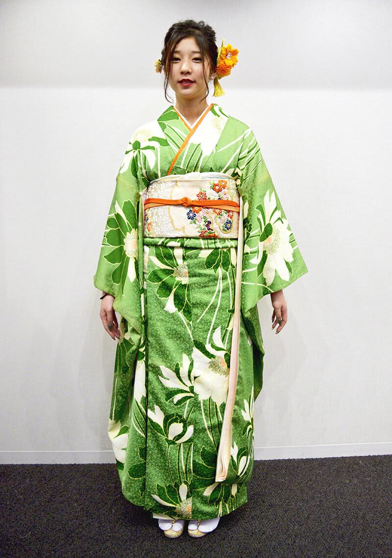 No.957ゆう 振袖スナップ写真3