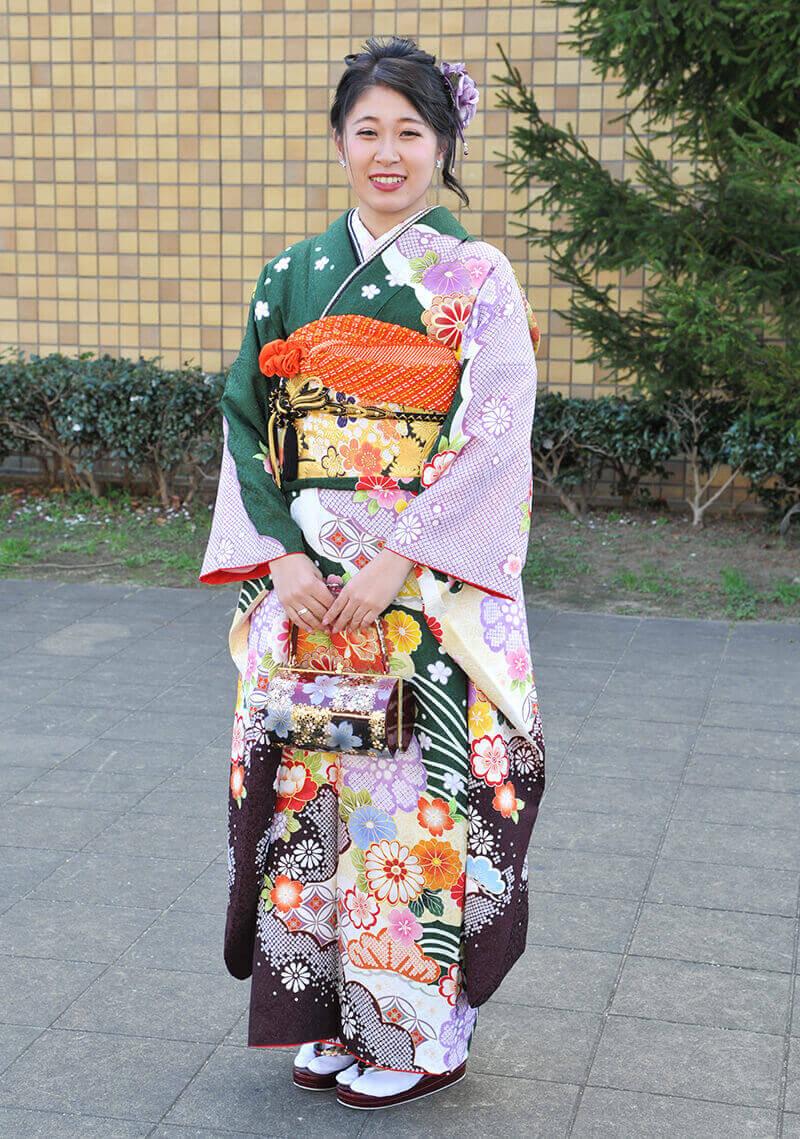 No.916まゆ 振袖スナップ写真2