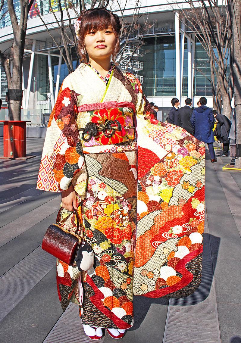 No.922春風 振り袖スナップ写真2