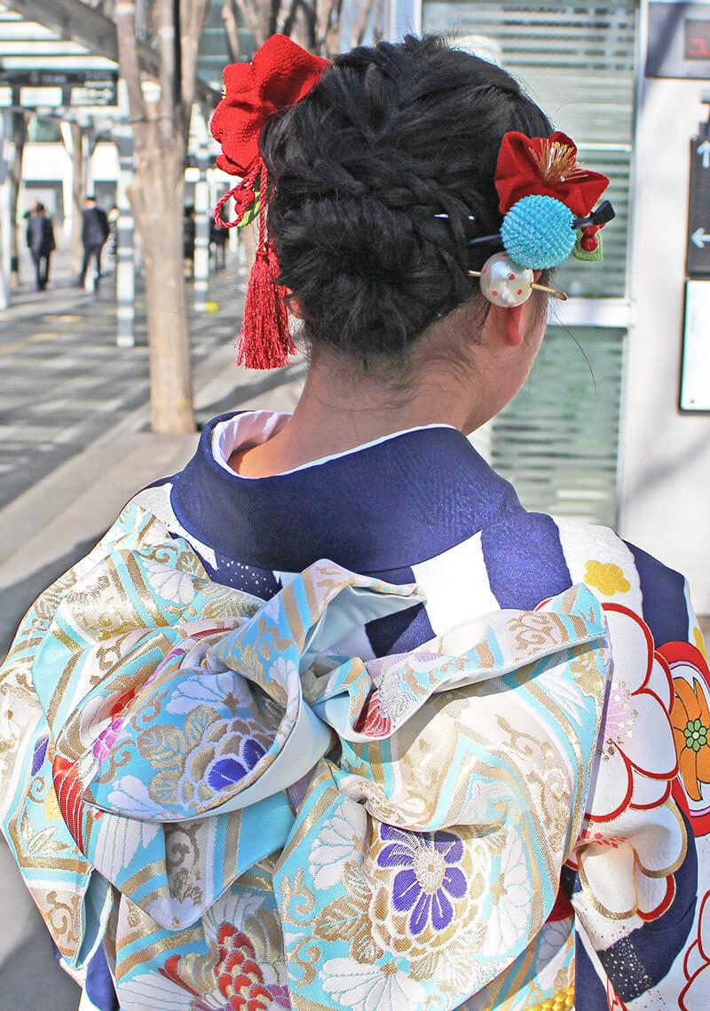 No.924おにぎり 振り袖スナップ写真4