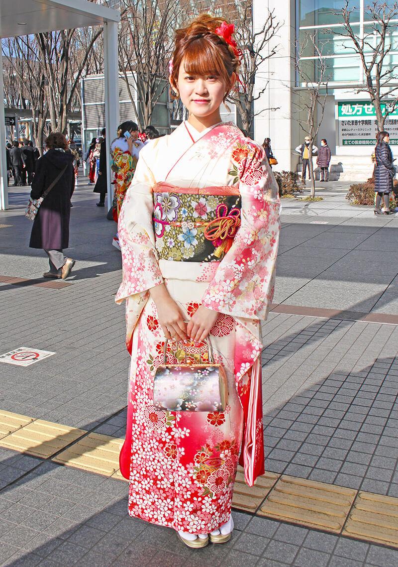No.925ゆいな 振り袖スナップ写真3