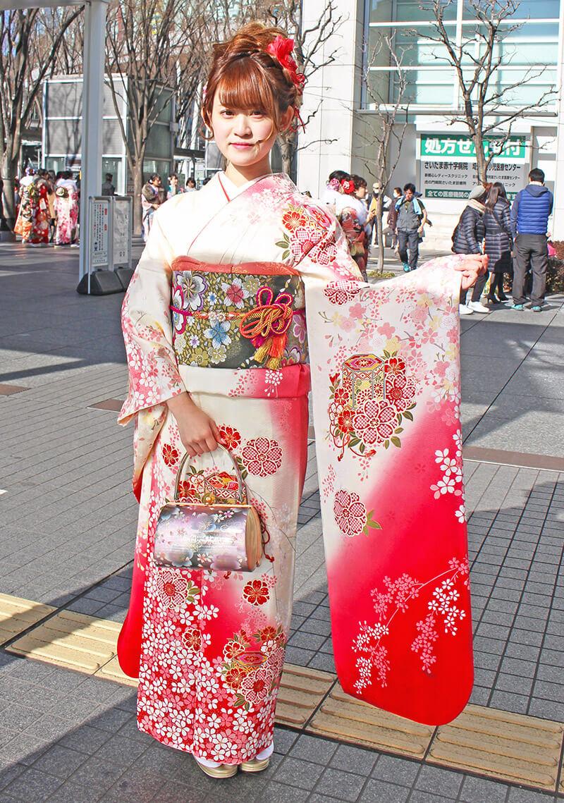 No.925ゆいな 振り袖スナップ写真2