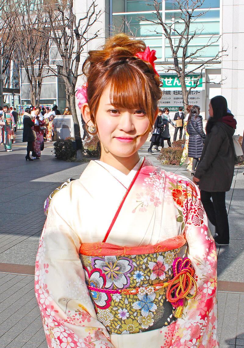 No.925ゆいな 振り袖スナップ写真1