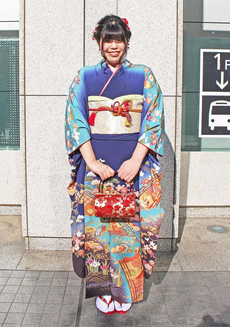 No.928なべ 振り袖スナップ写真3