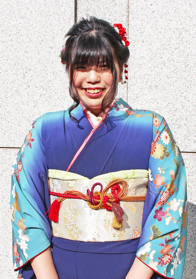 No.928なべ 振り袖スナップ写真1
