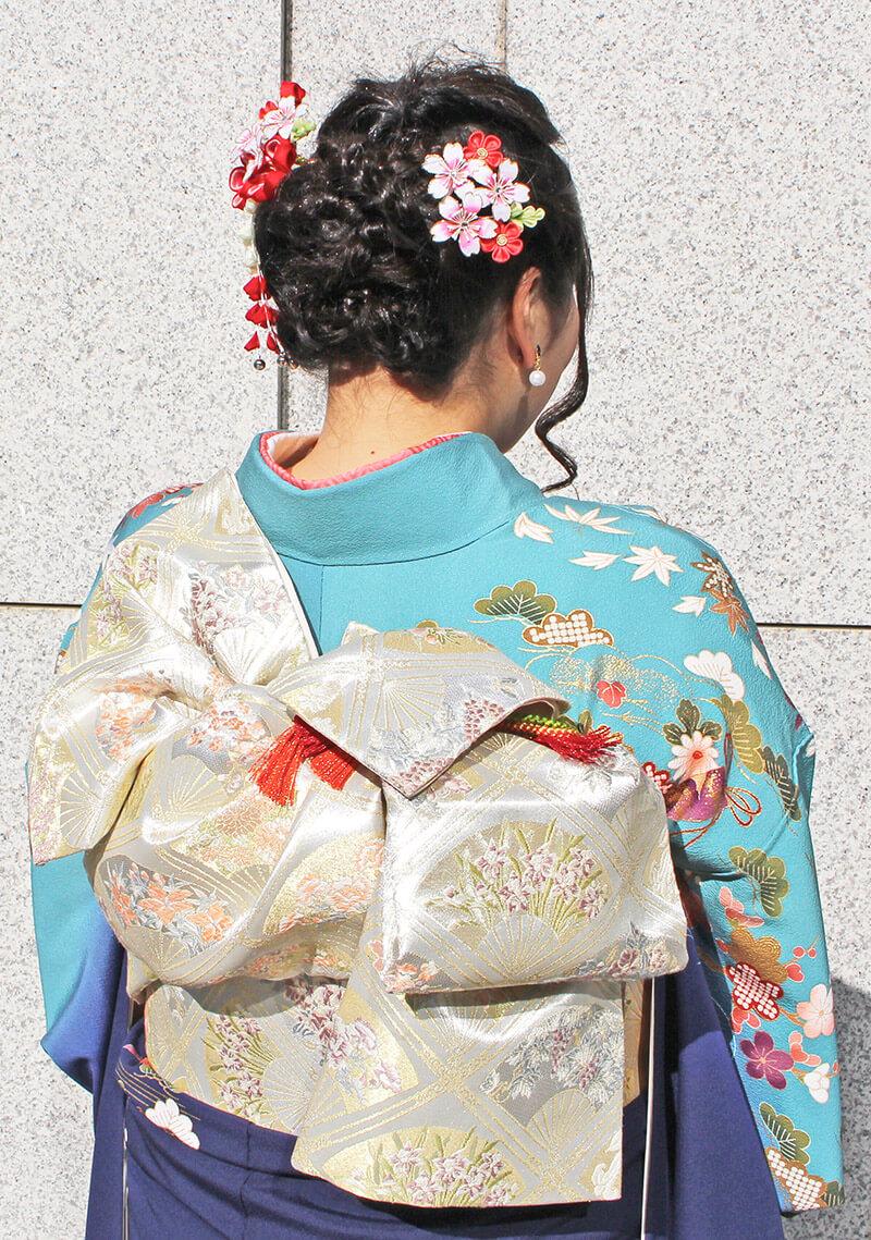 No.928なべ 振り袖スナップ写真4